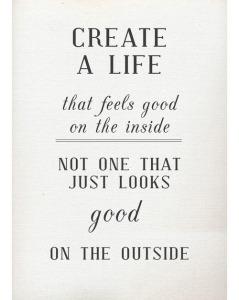 Create a life