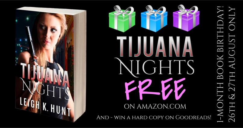 Tijuana Nights Free Book Birthday Promo
